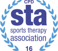 recognised by the Sports Therapy Association (STA)